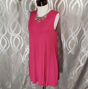Pink Swing Tunic Sleevless By Agnes & Dora